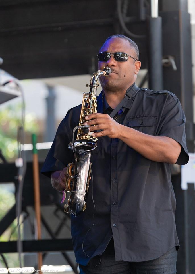 MC at Jazz Fest